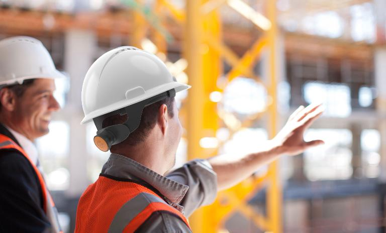 Introducing Helmets With Iot Technologies For Construction Sites Roland Berger